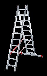 Лестница раздвижная двухсекционная