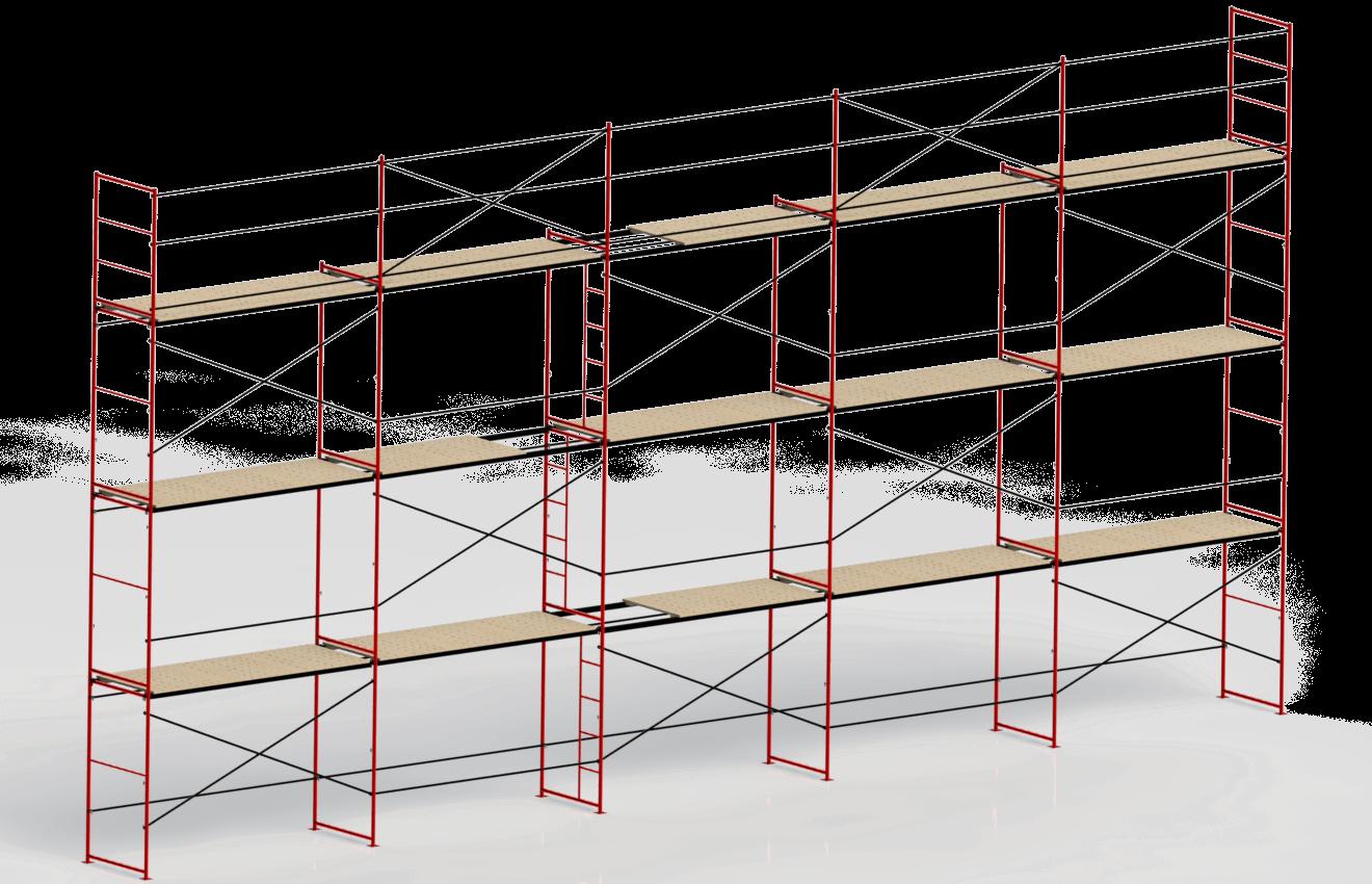 Леса строительные рамные ЛРСП-40, 2 на 3м